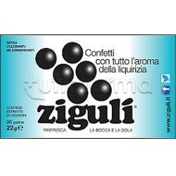Zigulì Caramelle Gusto Liquirizia 36 Palline