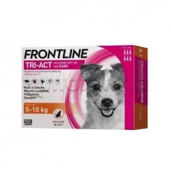 Frontline Tri-Act Antiparassitario per Cani 5-10Kg 6 Pipette