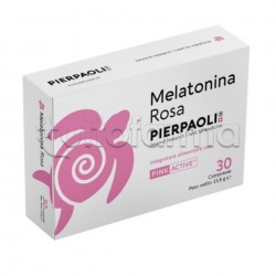 Dr. Pierpaoli Melatonina Rosa Integratore Rilassante per Donne 30 Compresse