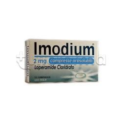 Imodium 12 Compresse Orosolubili 2 mg Contro Diarrea