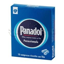 Panadol 10 Compresse Paracetamolo 500 mg