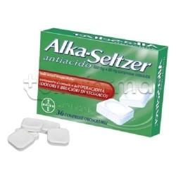 Alka Seltzer Antiacido 36 Compresse Orosolubili