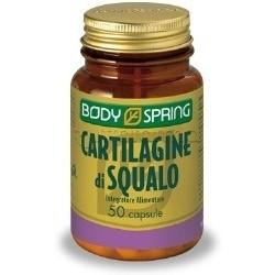 Body Spring Integratore Alimentare Cartilagine di Squalo 50 Compresse
