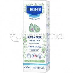 Mustela Hydra Bebè Crema Idratante Viso Pelle Normale 40ml