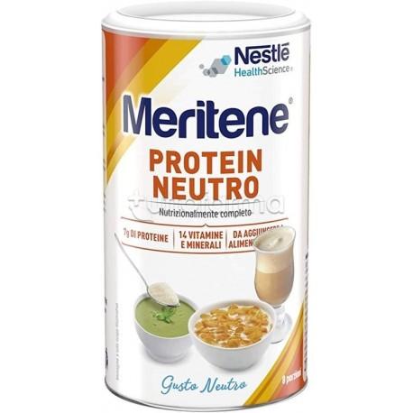 Nestlè Meritene Protein con Proteine e Vitamine 270g Gusto Neutro