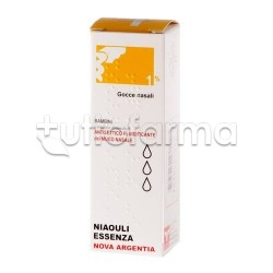 Niaouli Essenza 1% Gocce Nasali 10 gr Espettoranti Balsamiche