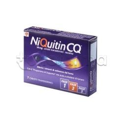 NiQuitin 7 Cerotti Transdermici 14 mg/24 h Nicotina per Disassuefazione da Sigarette