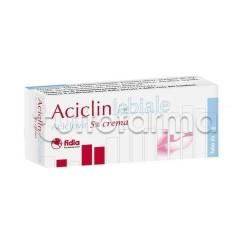 Aciclinlabiale Crema 2 grammi 5% per Herpes Labiale