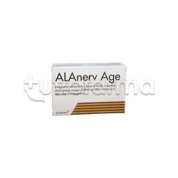 Alanerv Age Integratore con Omega-3 20 Capsule