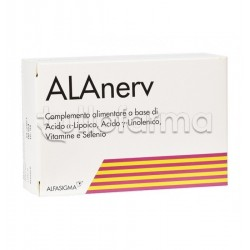 Alanerv Integratore Antiossidante 20 Compresse