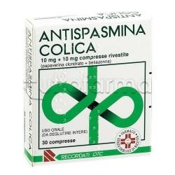 Antispasmina Colica per Spasmi e Coliche 30 Compresse Rivestite