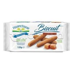 Happy Farm Biscotti al Caramello Senza Glutine 120g