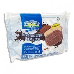 Happy Farm Snakis Biscotto con Crema al Cacao Senza Glutine 104g