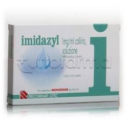 Imidazyl Collirio Monodose 10 Flaconcini Monodose 1 mg/ml per Occhi Irritati ed Arrossati