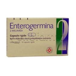 Enterogermina Fermenti Lattici 2 Miliardi di Spore Attive 12 Capsule