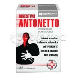 Digestivo Antonetto 40 Compresse Masticabili Gusto Classico