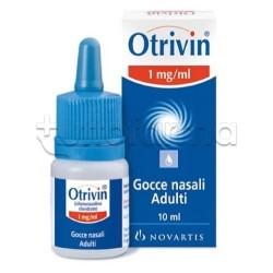 Narhimed Naso Chiuso Gocce Nasali Decongestionanti per Naso Chiuso 10 ml 1 mg/ml