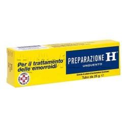 Preparazione H Unguento 1,08% 25 gr per Emorroidi