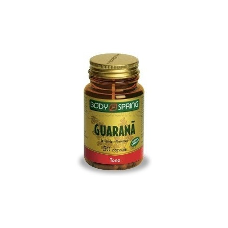 Body Spring Guaranà Integratore Stanchezza 50 Capsule