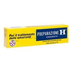 Preparazione H Unguento 1,08% 50 gr per Emorroidi