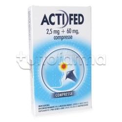 Actifed 12 Compresse 2,5 mg + 60 mg per Raffreddore
