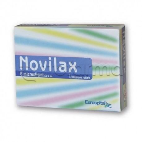 Novilax 6 Microclismi 5 ml Lassativi