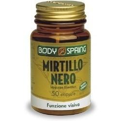 Body Spring Mirtillo Nero Funzione Visiva 50 Compresse