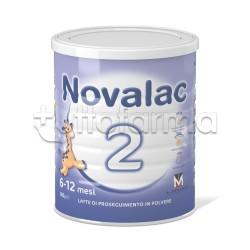 Novalac 2 Latte in Polvere 6-12 Mesi 800g
