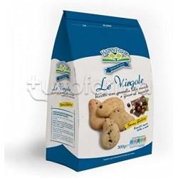 Happy Farm Biscotti Virgole con Granella di Nocciole e Gocce di Cioccolato Senza Glutine 200g