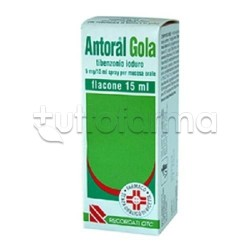 Antoral Gola Spray per Mal di Gola 15 ml