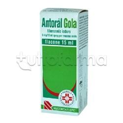 Antoral Gola Spray per Mal di Gola 15 ml