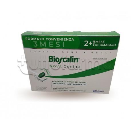 Bioscalin Nova Genina Integratore per Capelli Deboli 90 Compresse