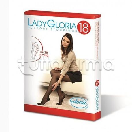 Ladygloria 18 Collant 140 Denari Color Sahara Taglia 4 1 Pezzo
