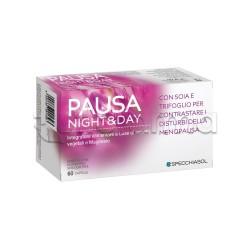 Specchiasol Pausa Night & Day Integratore per Disturbi Menopausa 60 Capsule