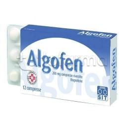 Algofen 12 Compresse Rivestite 200 mg Antinfiammatorio ed Antidolorifico
