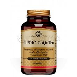 Solgar Lipoic-Coquten Integratore Antiossidante 60 Perle
