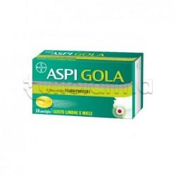 Aspi Gola 8,75mg 16 Pastiglie per Mal di Gola Gusto Limone e Miele