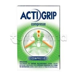 Actigrip 12 Compresse per Influenza e Raffreddore