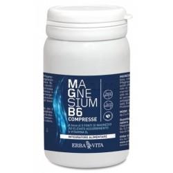 Erba VIta Magnesium B6 Integratore per la Stanchezza 60 Compresse