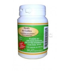 Vegetal Progress Uova di Coturnice Integratore Vitaminico 120 Capsule