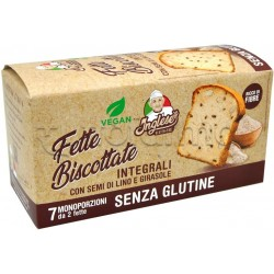 Inglese Fette Biscottate Classiche Senza Glutine 7 Monoporzioni