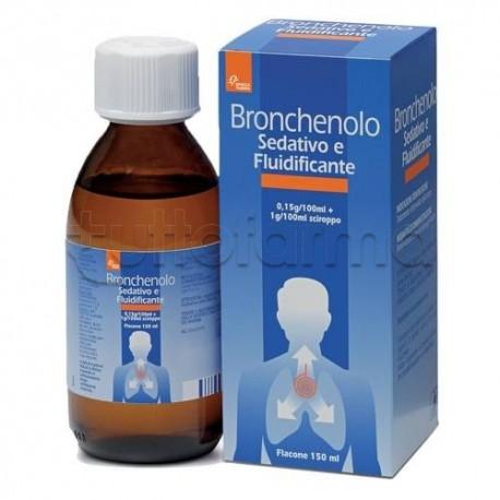 Bronchenolo Sedativo Fluidificante Sciroppo per Tosse 150 ml