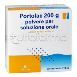 Portolac Polvere 200 gr Lassativo per Stitichezza
