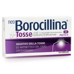 Neoborocillina Tosse 20 Compresse Orosolubili Sedative della Tosse