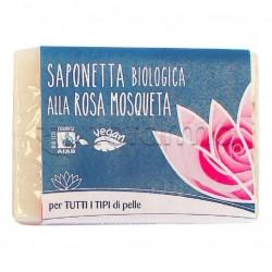 Saponetta Biologica alla Rosa Mosqueta per la Detersione