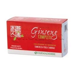 Farmaerbe Ginseng Complex Extract Integratore per la Stanchezza 45 Perle