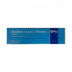 Almus Aciclovir Pharma 5% Crema 3g per Herpes