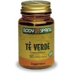 Body Spring Tè Verde Integratore Drenante 50 Capsule