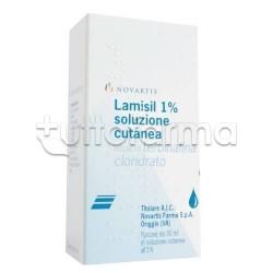 Lamisil Soluzione Cutanea Antimicotica per Funghi Flacone 30 ml 1%