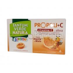 Tantum Verde Natura Junior Antiossidante con Propoli+C Arancia e Miele 15 Pastiglie
